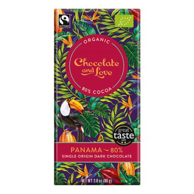 chocolate and love panama 80