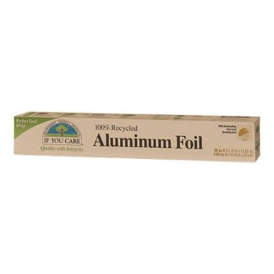if you care aluminium foil folie genanvendt alu emballage