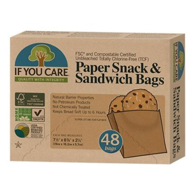 if you care paper snack and sandwich bags poser ubleget