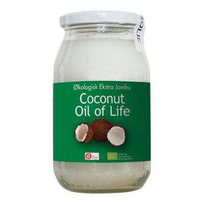 the power plants coconut oil of life kokosolie ren jomfru økologisk