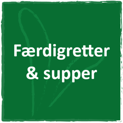 Færdigretter og supper