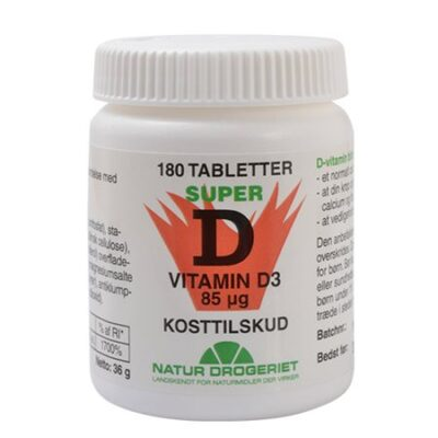 naturdrogeriet super d vitamin d3