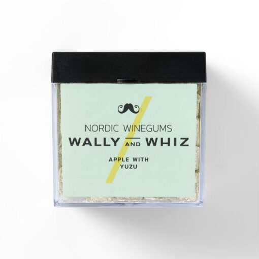 wally and whiz nordic gourmet winegums apple yuzu æble