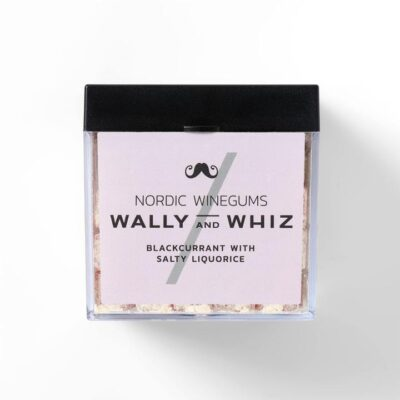 wally and whiz nordic gourmet winegums blackcurrant salty liquorice solbær saltlakrids