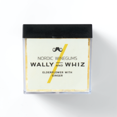 wally and whiz nordic gourmet winegums elderflower ginger hyldeblomst ingefær