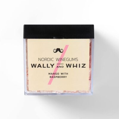 wally and whiz nordic gourmet winegums mango raspberry hindbær