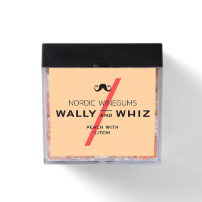 wally and whiz nordic gourmet winegums peach litchi fersken