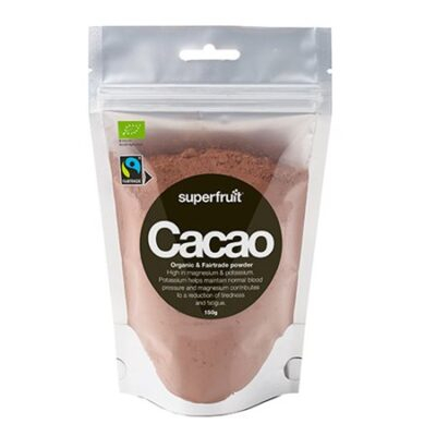 superfruit cacao powder kakao pulver raw økologisk fairtrade
