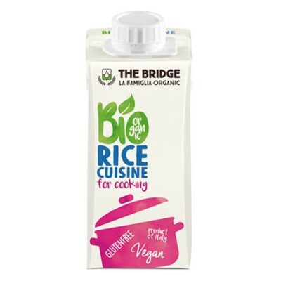 the bridge la famiglia organic bio rice cuisine for cooking rismælk risfløde til madlavning økologisk