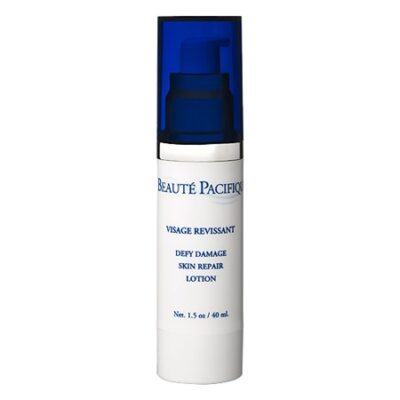 beauté pacifique naturlig dansk luksus hudpleje ansigt defy damage skin repair lotion anti age serum a-vitamin rynker