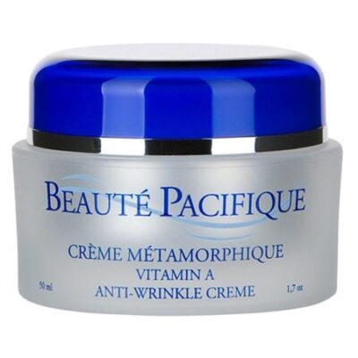 Beauté Pacifique naturlig hudpleje natcreme a-vitamin krukke anti wrinkle rynker age collagen